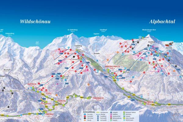 mapa ośrodek Skijuwel